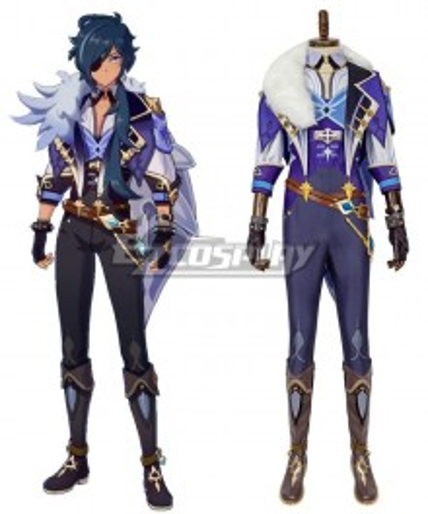 Genshin Impact Kaeya Cosplay Costume New Edition