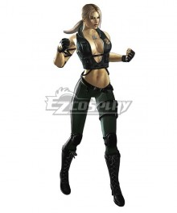 Mortal Kombat 11 Sonya Blade Cosplay Costume