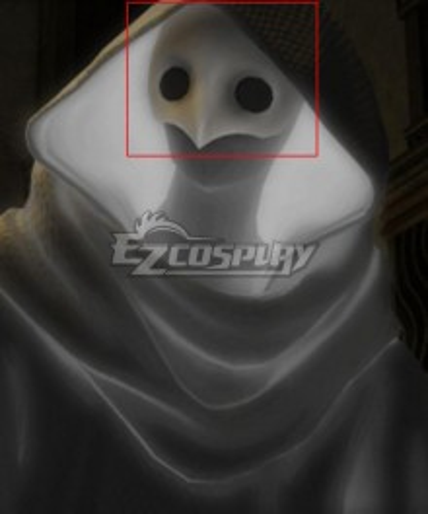 Final Fantasy 14 Amaurotine Mask Cosplay Accessory Prop