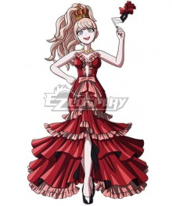 Danganronpa 10th Anniversary Junko Enoshima Cosplay Costume