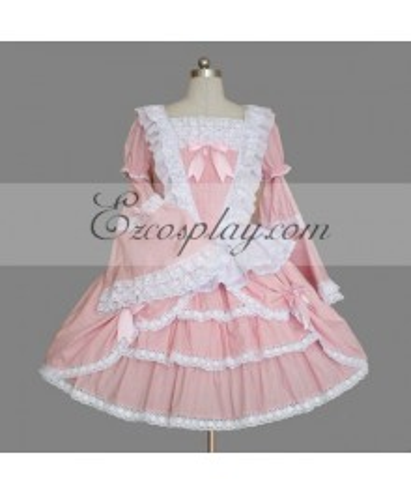 Pink Gothic Lolita Dress -LTFS0033