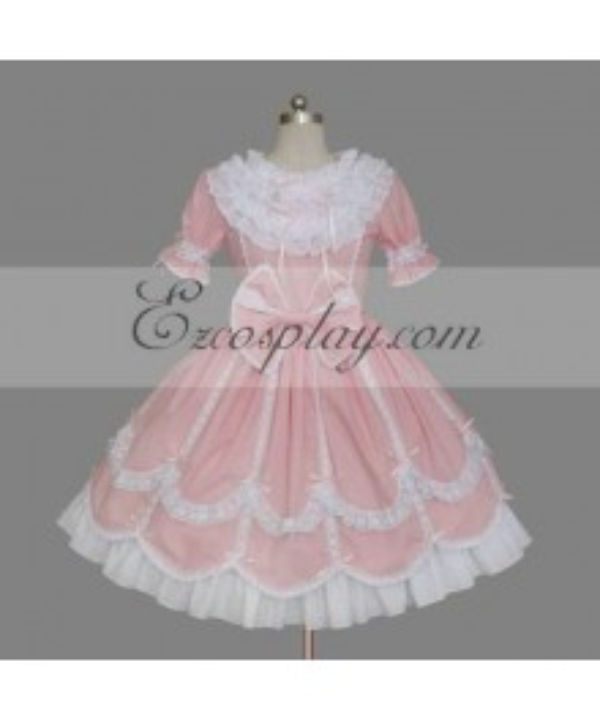Pink Gothic Lolita Dress -LTFS0083