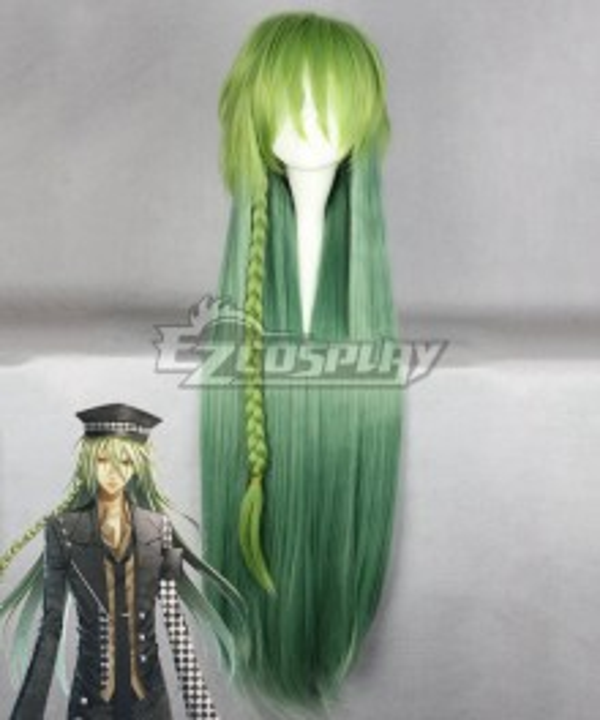 AMNESIA Ukyo Green Cosplay Wig