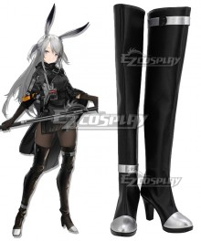 Arknights Savage Black Shoes Cosplay Boots