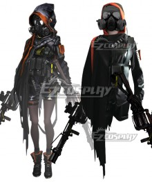 Arknights Skullshredder Cosplay Costume