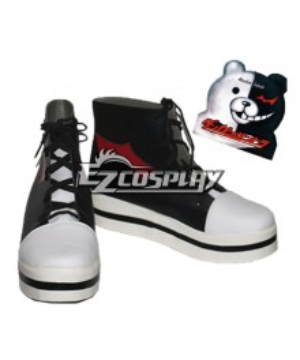 Dangan Ronpa Monokuma Black Cosplay Shoes