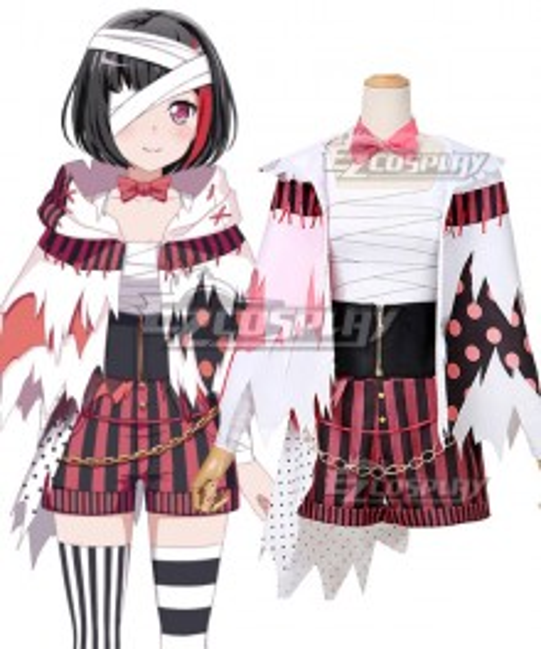 BanG Dream Afterglow Mitake Ran Halloween Cosplay Costume