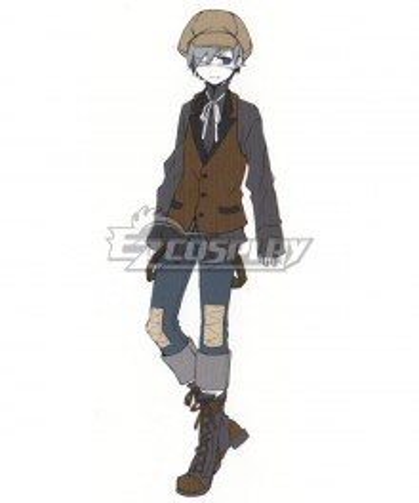 Black Butler Kuroshitsuji Ciel Phantomhive Slums Cosplay Costume