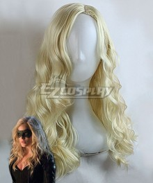 DC Comics Green Arrow Black Canary Dinah Laurel Lance Light Golden Cosplay Wig