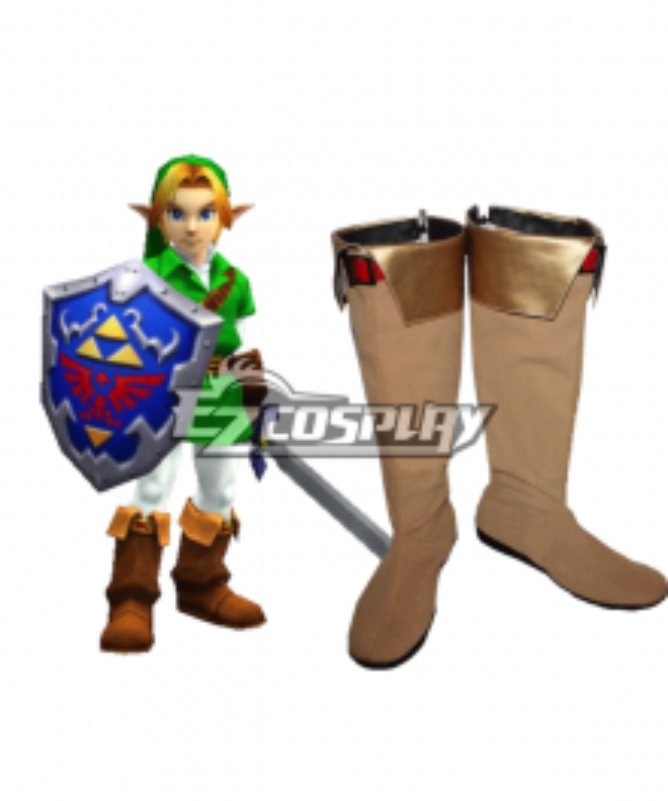 The Legend of Zelda Zeruda no Densetsu Link Boots Cosplay Shoes