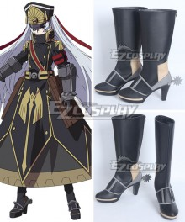 Re: Creators Military Uniform Princess Black Shoes Cosplay Boots