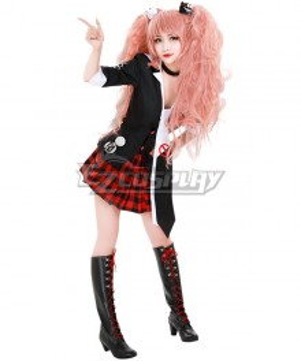 Danganronpa Dangan Ronpa : Trigger Happy Havoc Junko Enoshima Cosplay Costume