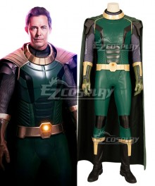 DC Crisis on Infinite Earths Kell Mossa Pariah Cosplay Costume