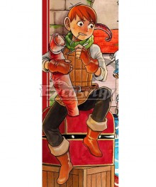 Delicious in Dungeon Chilchuck Cosplay Costume