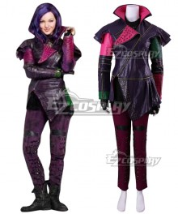 Disney Descendants 2 Mal Cosplay Costume