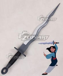 Disney Princess Mulan Sword Cosplay Weapon Prop