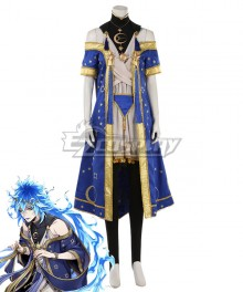 Disney Twisted Wonderland Ignihyde Idia Shroud SR Starry Clothes Cosplay Costume