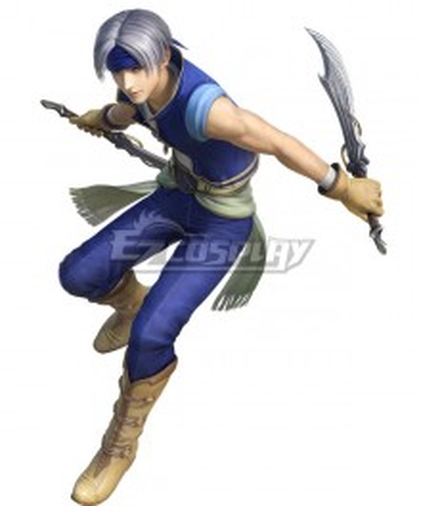 Dissidia Final Fantasy NT Locke Cole 2nd Cosplay Costume