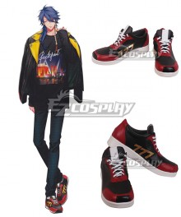 Division Rap Battle Arisugawa Daisu Black Cosplay Shoes