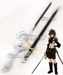 Drakengard 3 Dito Sword And Scabbard Cosplay Weapon Prop