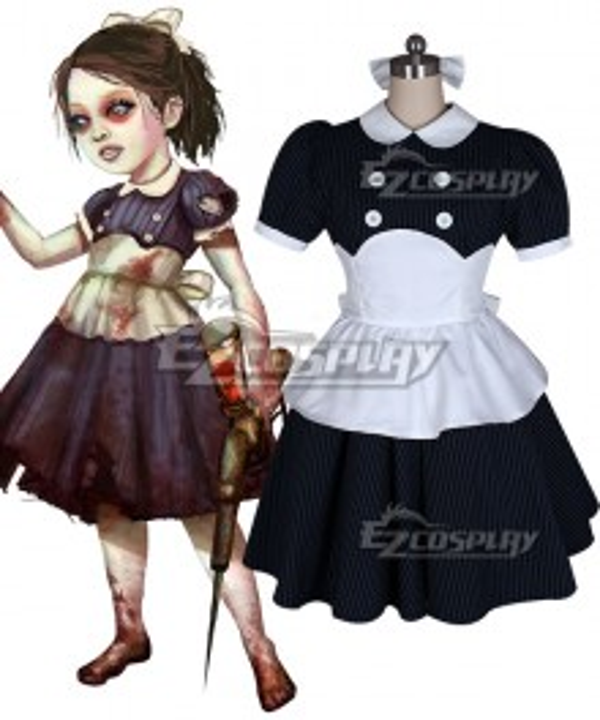 BioShock Little Sister Cosplay Costume - Black