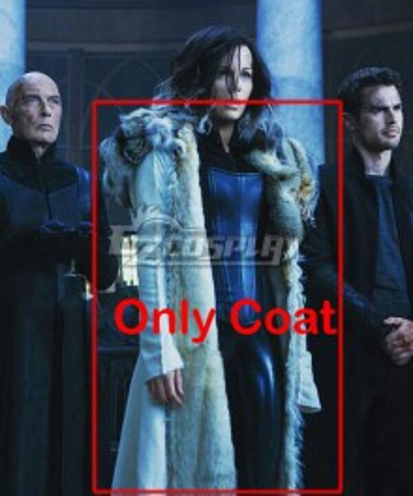 Underworld: Blood Wars Selene Fur Coat Cosplay Costume - Only Coat