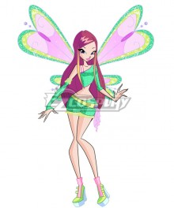 Winx Club Roxy Cosplay Costume