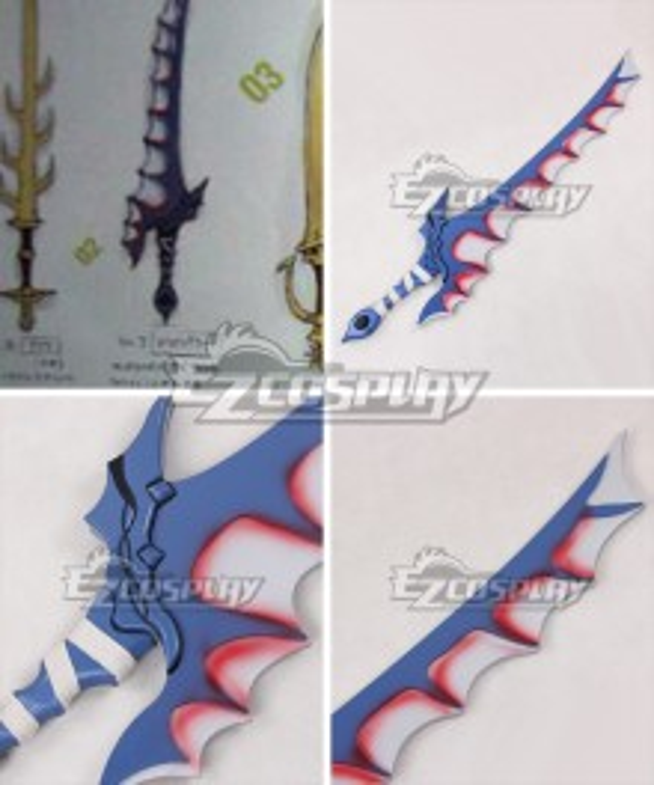 Fire Emblem Awakening Dragon Slayer Sword Cosplay Weapon Prop