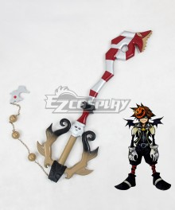 Kingdom Hearts Sora Decisive Pumpkin Keyblade Cosplay Weapon Prop