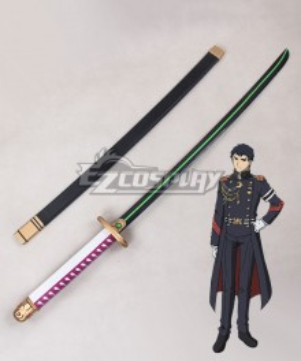 Seraph of the End Battle in Nagoya Owari no Serafu Vampire Reign Kureto Hiragi Sword Cosplay Weapon Prop