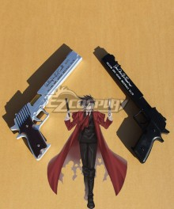 Hellsing Alucard Jackal Casull Gun Cosplay Weapon Prop