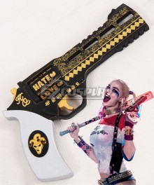 DC Detective Comics Batman Suicide Squad Task Force X Harley Quinn 2016 Movie Gun Cosplay Weapon Prop