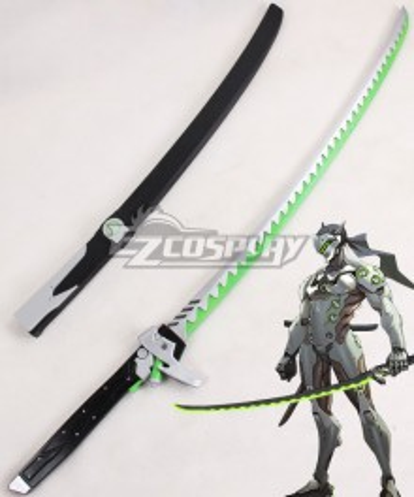 Overwatch OW Genji Shimada Long sword Cosplay Weapon Prop - A Edition