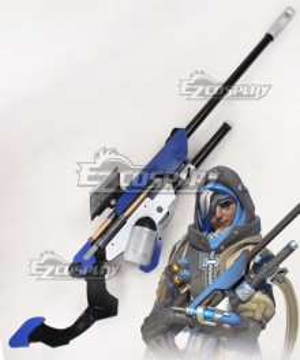Overwatch OW Ana Amari Gun Cosplay Weapon Prop