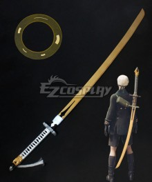 NieR: Automata 9S YoRHa No.9 Type S  Sword Cosplay Weapon Prop - A Edition