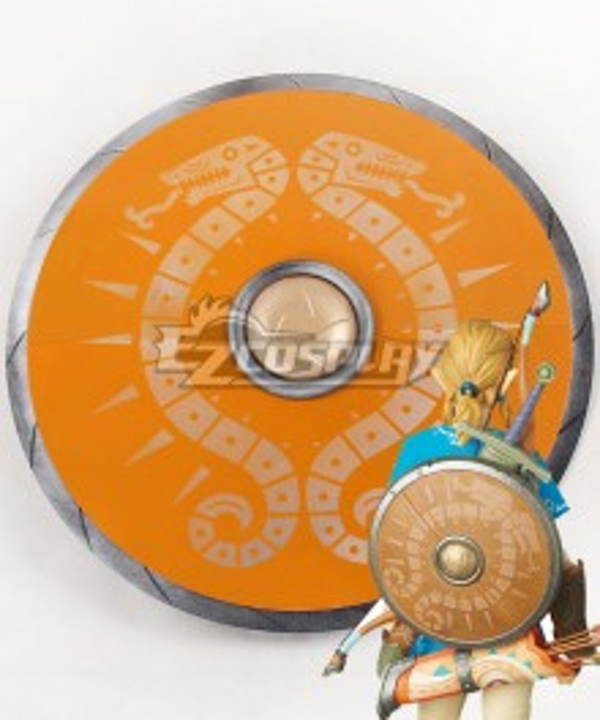 The Legend of Zelda: Breath of the Wild Link Shield Cosplay Weapon Prop