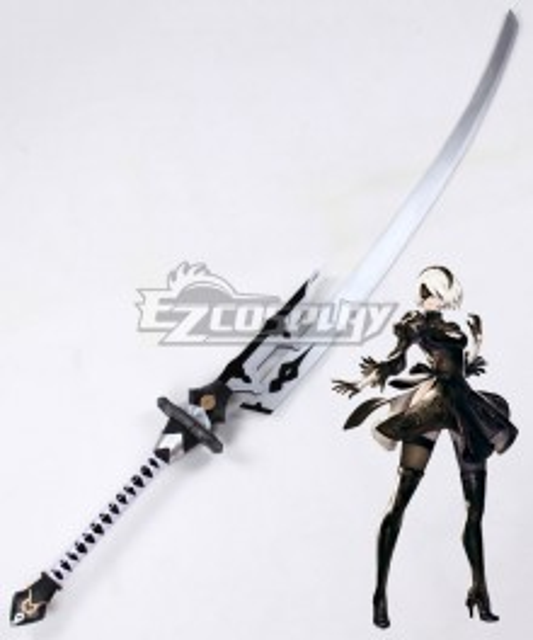 NieR: Automata 2B YoRHa No.2 Type B Virtuous Treaty Sword Cosplay Weapon Prop