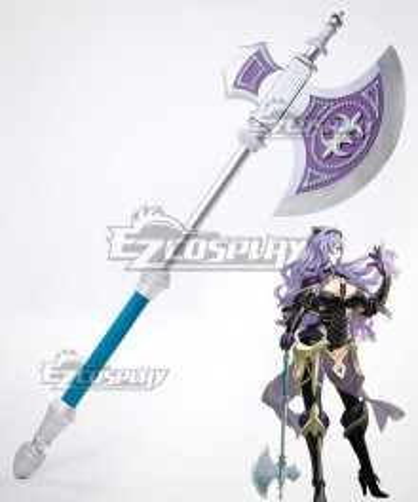 Fire Emblem Fates IF Camilla Kamira Axe Cosplay Weapon Prop
