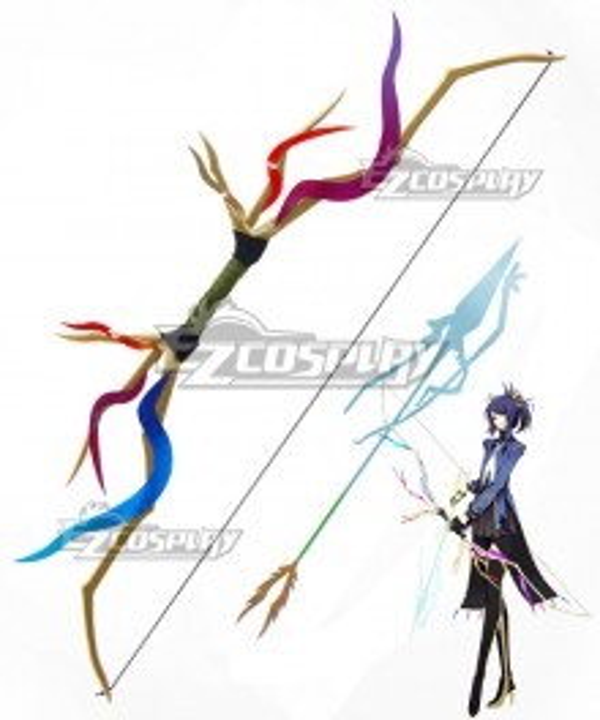 Pokémon XY Pokemon Pocket Monster Xerneas Bow and arrow Cosplay Weapon Prop