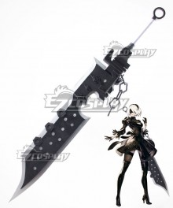 NieR: Automata 2B 9S YoRHa No.2 Type B YoRHa No.9 Type S Type-3 Blade Sword Cosplay Weapon Prop