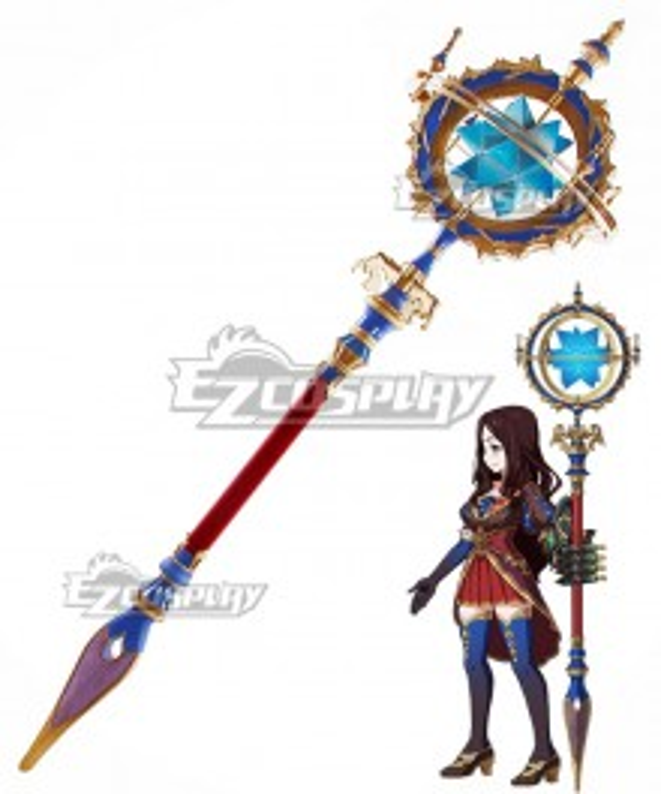Fate Grand Order Caster Leonardo Da Vinci Staves Cosplay Weapon Prop