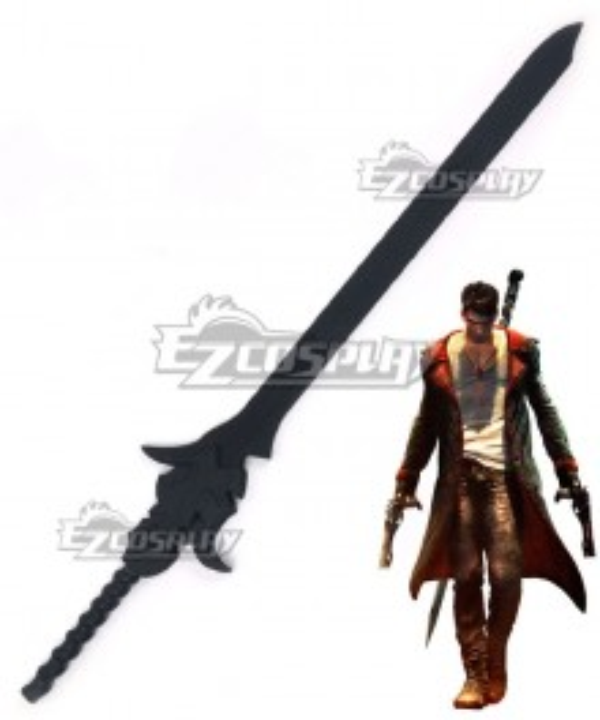 Devil May Cry 5 DmC Dante Rebellion Sword Cosplay Weapon Prop