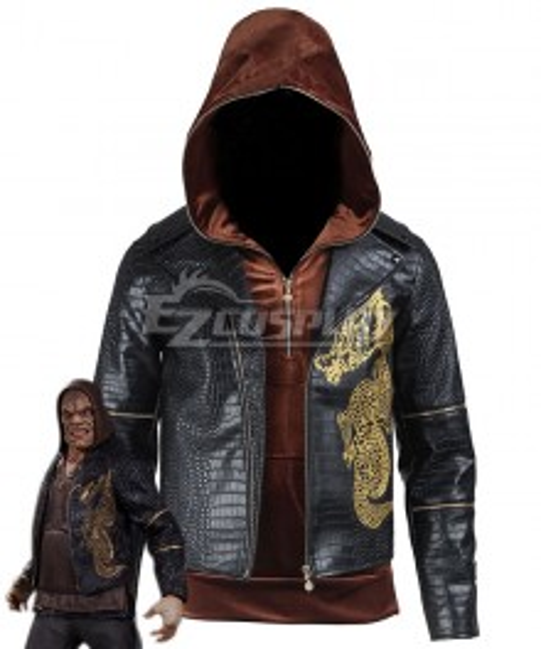 DC Batman Suicide Squad Task Force X Killer Croc Waylon Jones 2016 Movie Cosplay Costume