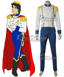 Disney The Little Mermaid Prince Eric Cosplay Costume