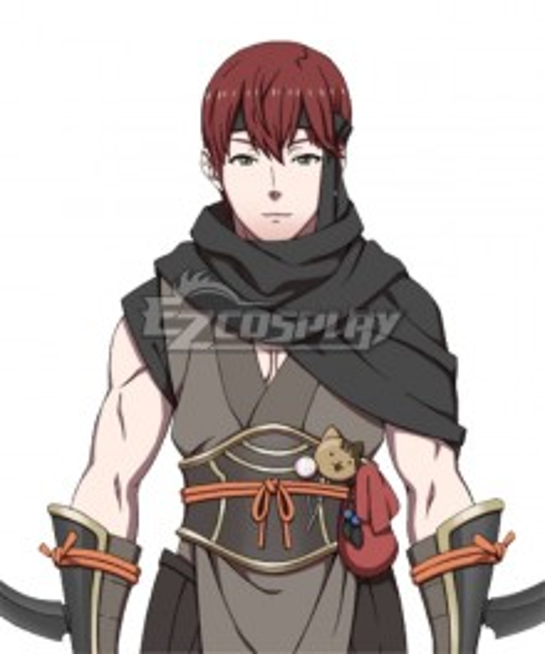 Fire Emblem Fates Asugi Cosplay Costume