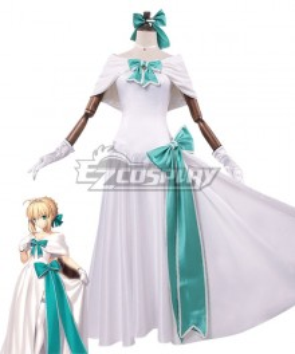 Fate Grand Order Heroic Spirit Formal Dress Artoria Pendragon Cosplay Costume