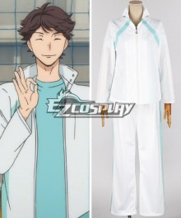 Haikyu!! Tōru Oikawa Aoba Josai High School Jacket Costume Cosplay