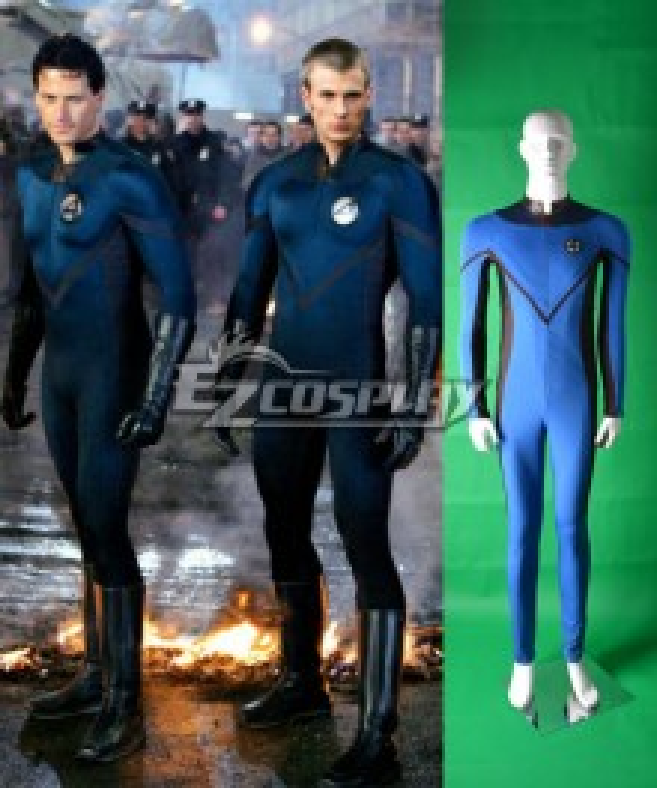 Marvel Fantastic Four Fantastic Man Cosplay Costume