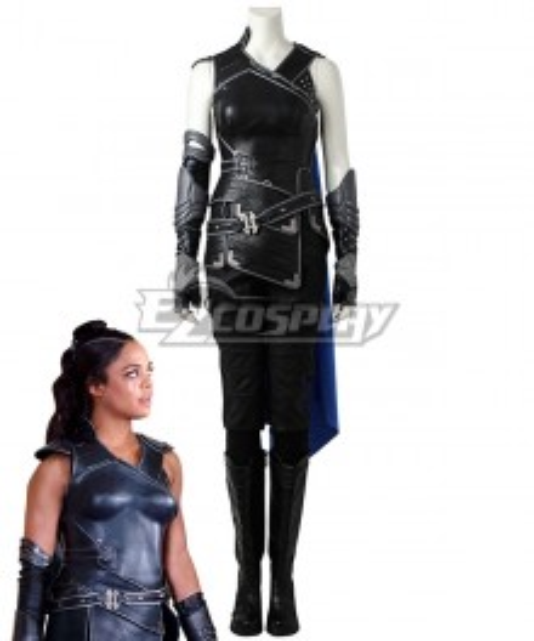 Marvel Thor 3 Ragnarok Trailer Valkyrie Cosplay Costume - No Boots