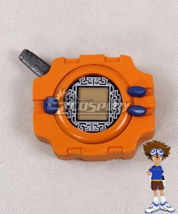 Digimon Adventure Digital Monster Tai Kamiya Taichi Yagami Digivice Cosplay Accessory Prop